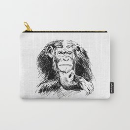 Drawing Chimpanzee Carry-All Pouch
