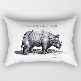 Rinoceros Rectangular Pillow