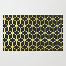 Golden pattern III Rug