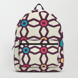 Connecting Stars Boho Pattern Backpack