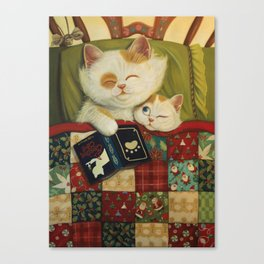 The cozy moment Canvas Print