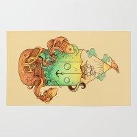 creativity Area & Throw Rugs featuring Joy of Creativity by Enkel Dika