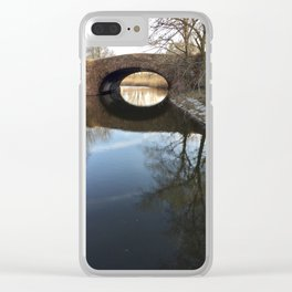 Fens Reflection Clear iPhone Case