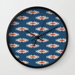 Minimal ethnic pattern Wall Clock