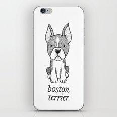 Dog Breeds: Boston Terrier iPhone & iPod Skin