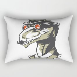 Dromeosaurs Industrial vector Rectangular Pillow