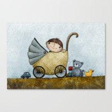 Happy Boy Canvas Print