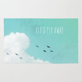 Let's Fly Away Rug