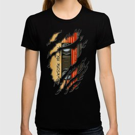 awesome transparent mix cassette tape vol 1 T-shirt