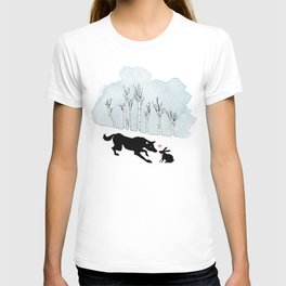 Wolfy Valentine T-shirt