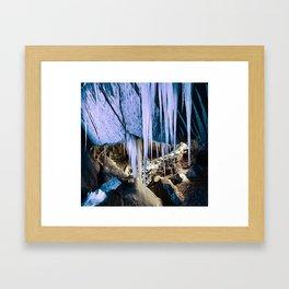 Frozen Beneath Framed Art Print