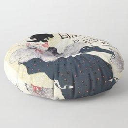 La Revue Blanche Toulouse Lautrec Floor Pillow