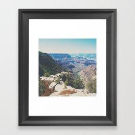the Grand Canyon ... Framed Art Print