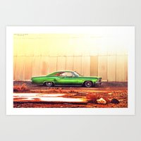 tame impala Art Prints featuring Impala by Hosam Al-Ghamdi