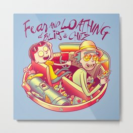 Fear and Loathing at Blips & Chitz Metal Print