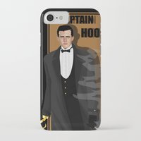 captain hook iPhone & iPod Cases featuring captain hook by snsemstlcp