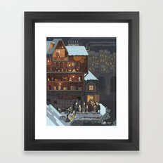 Scene #13: 'The Toy Maker' Framed Art Print