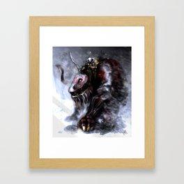 Demon Raider Framed Art Print