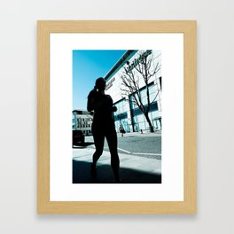 Keep on Running, Keep on Hiding Framed Art Print