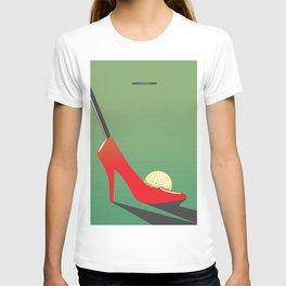High heel putter T-shirt