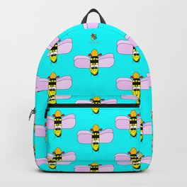 Happy Bumble Bee Backpack