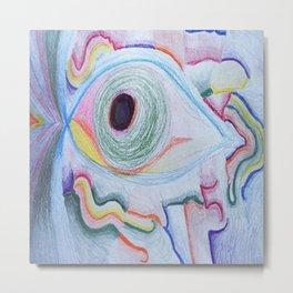 Eye See You Metal Print