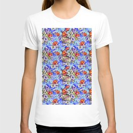 Watercolor Bright Floral T-shirt