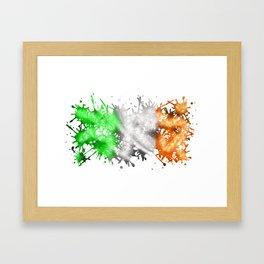 Irish Sparkle Framed Art Print