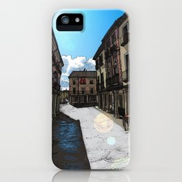 Calle Mayor (color) iPhone Case