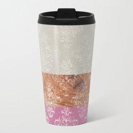 Layers Damask Rose Travel Mug