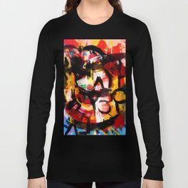 Abstraction Lyrique avec vitesse Long Sleeve T-shirt