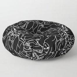 Fifty shades of Love (Dark) Floor Pillow