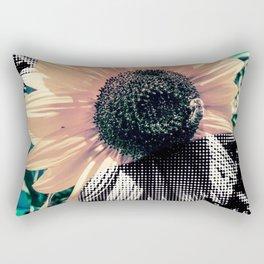 Popart sunflower Rectangular Pillow
