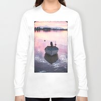 boat Long Sleeve T-shirts featuring Boat by Dora Birgis