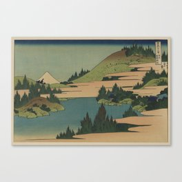 Hokusai  - Fuji Canvas Print