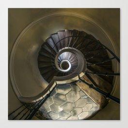 Circles and spirals Canvas Print