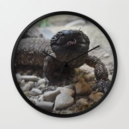 Lizard Queen Wall Clock