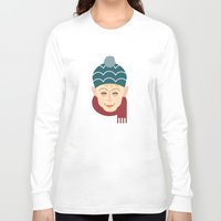 home alone Long Sleeve T-shirts featuring Home alone Kevin by Gary  Ralphs Illustrations