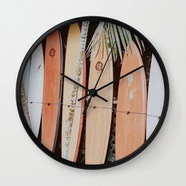 lets surf ii Wall Clock