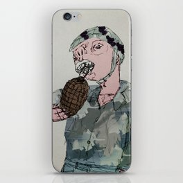 This is War by Debbie Porter - Designs of an Eclectique Heart iPhone Skin