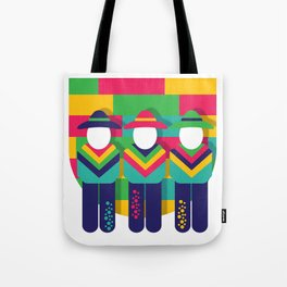 U Letter Illustration Tote Bag