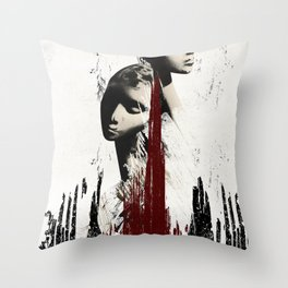 The Great Below Throw Pillow