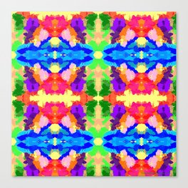Rainbow Kaleidoscope Butterfiles Canvas Print