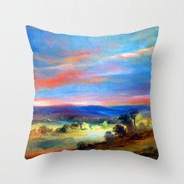 John Constable Hampstead Heath Throw Pillow