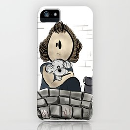Buffalo Bill & Precious- Silence of the Lambs Design iPhone Case