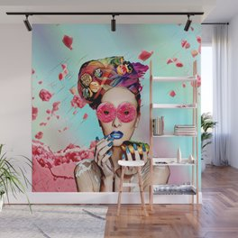 Candy Lady Wall Mural