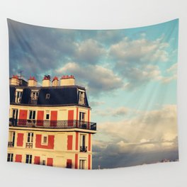 Shadow Of Sacre Coeur Wall Tapestry
