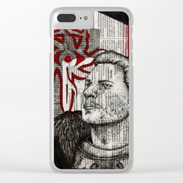 Ser Cullen Stanton Rutherford Clear iPhone Case