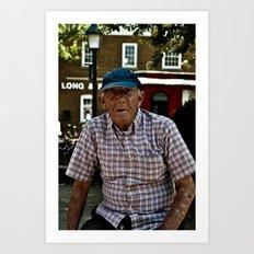 Old Man Mike Art Print