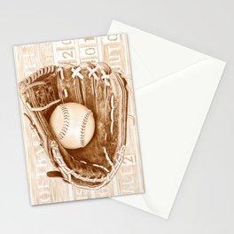Softball Stationery Cards
